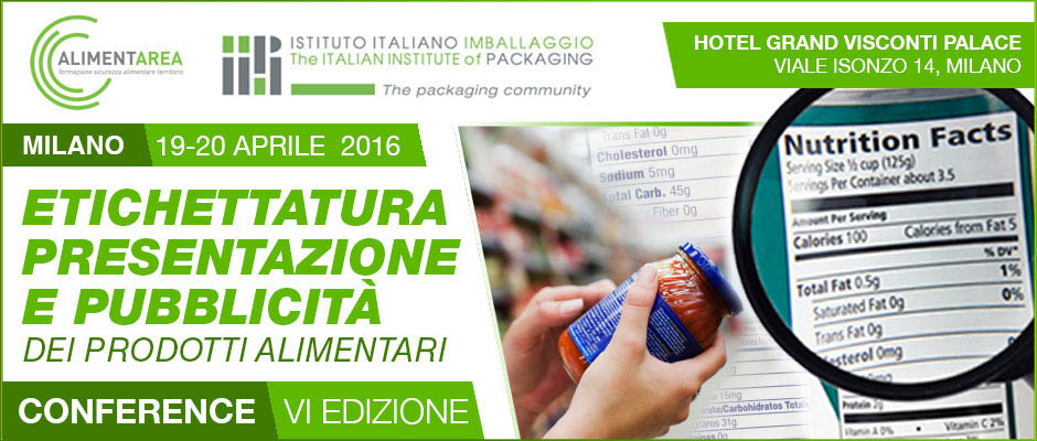 Etichettatura 2016 - VI