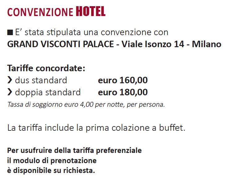 convenzione hotel